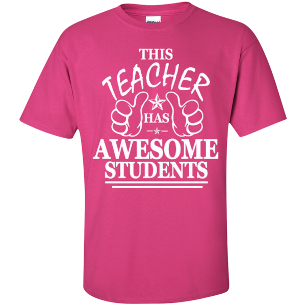 This Teacher has Awesome Students T-shirt Hoodie - TeachersLoungeShop - 6