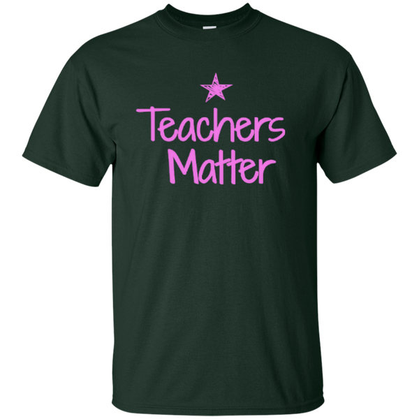 Teachers Matter Cotton T-Shirt - TeachersLoungeShop - 10