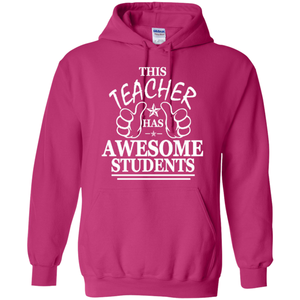 This Teacher has Awesome Students T-shirt Hoodie - TeachersLoungeShop - 8
