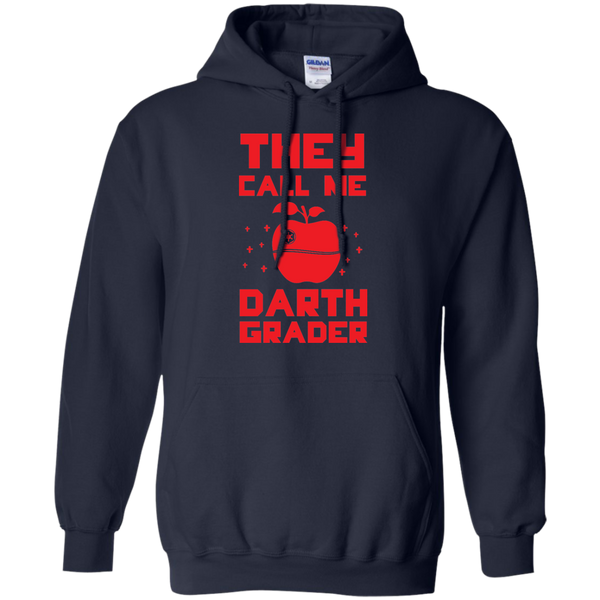 They call me Darth Grade  Hoodie 8 oz - TeachersLoungeShop - 2