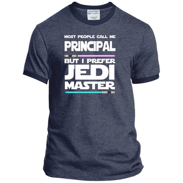 Most People Call Me Principal But I Prefer Jedi Master Ringer Tee - TeachersLoungeShop - 5