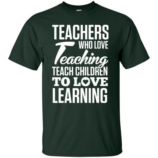 Teachers who love Teaching  T-Shirt - TeachersLoungeShop - 6
