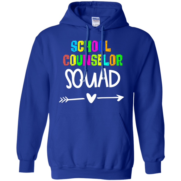 School Counselor  SquadPullover Hoodie 8 oz.