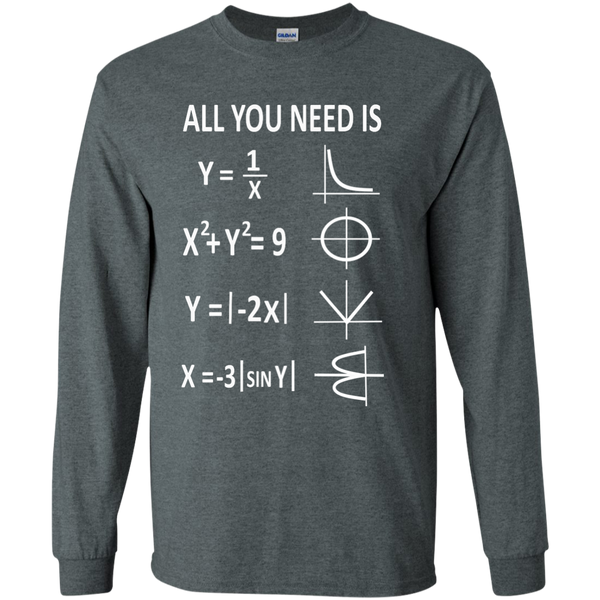 All You Need is Love LS Ultra Cotton Tshirt - TeachersLoungeShop - 6