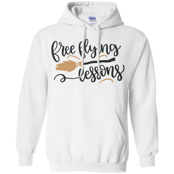 Free Flying Lessons Hoodie