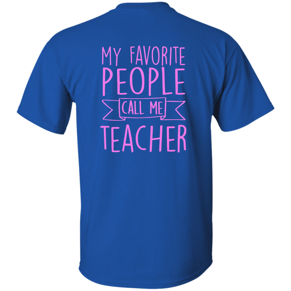 Teacher 101 Cotton T-Shirt - TeachersLoungeShop - 8