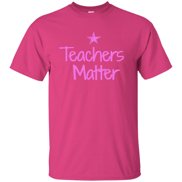 Teachers Matter Cotton T-Shirt - TeachersLoungeShop - 3