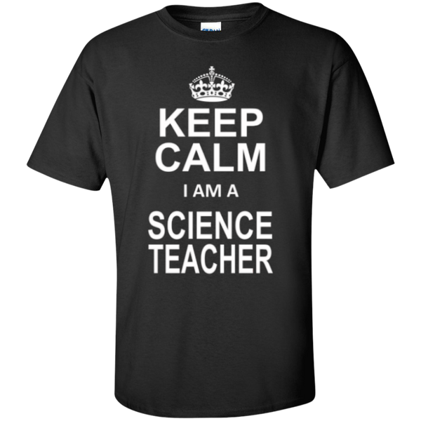 Keep Calm i'm a Science Teacher T-shirt Hoodie - TeachersLoungeShop - 1
