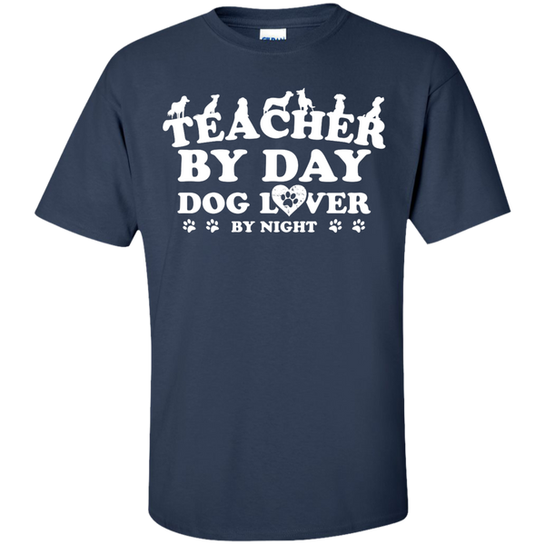Teacher By Day Dog Lover by Night T-Shirt - TeachersLoungeShop - 6