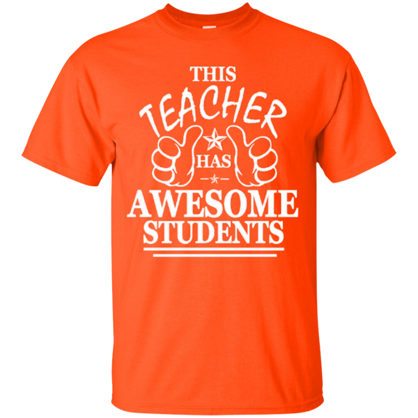 This Teacher has Awesome Students T-shirt Hoodie - TeachersLoungeShop - 5