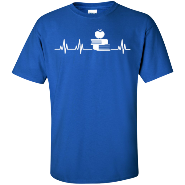 Teacher Heartbeat T-shirt Hoodies - TeachersLoungeShop - 3