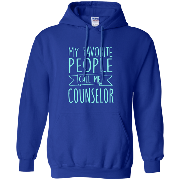 My Favorite People call Me Counselor Pullover Hoodie 8 oz - TeachersLoungeShop - 12