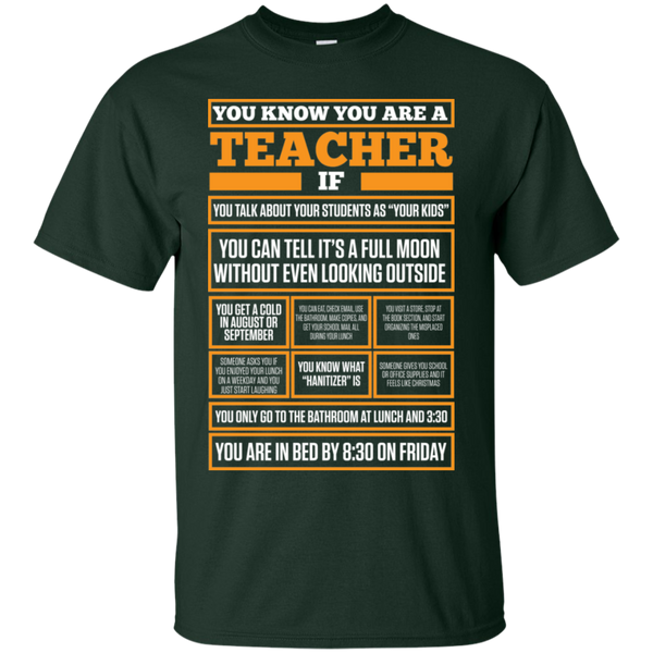 You know You are a Teacher if  T-Shirt - TeachersLoungeShop - 2