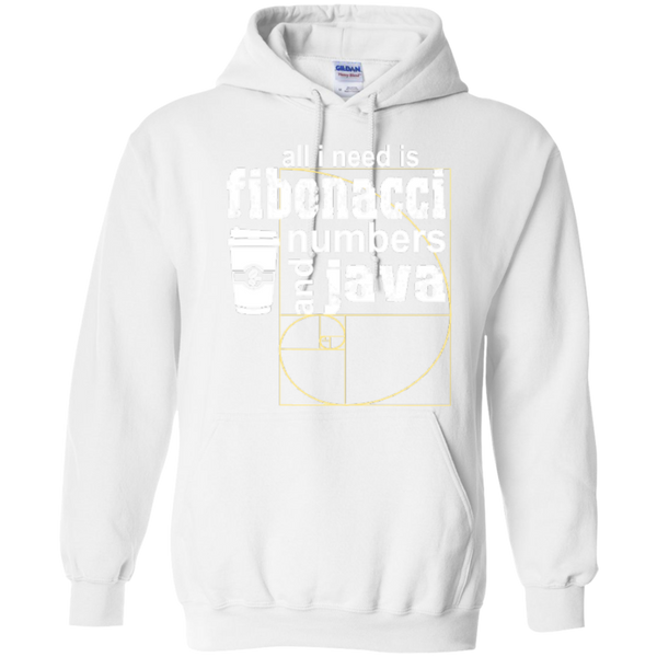 All i need is fibonacci numbers and java  Hoodies - TeachersLoungeShop - 7