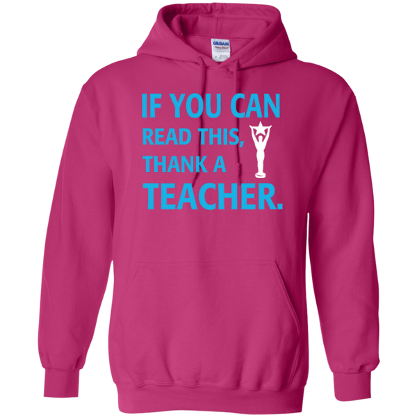 If You Can Read This Thank a Teacher T-shirt Hoodie - TeachersLoungeShop - 7