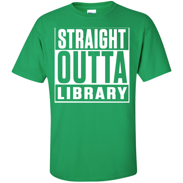 Straight Outta Library T-Shirt - TeachersLoungeShop - 7