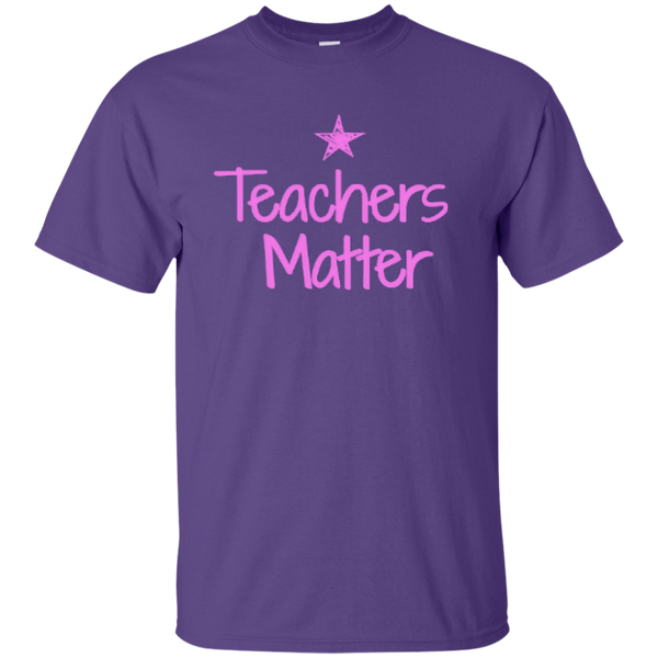 Teachers Matter Cotton T-Shirt - TeachersLoungeShop - 5