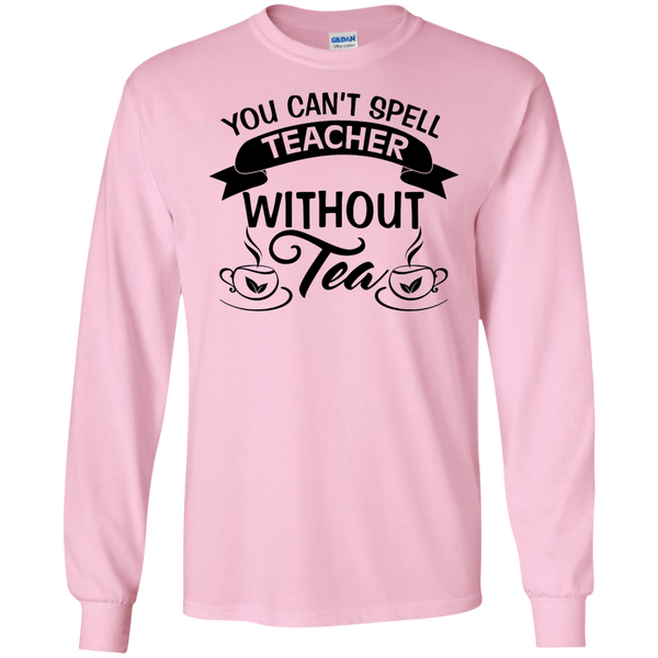 You Can't Spell Teacher without Tea    Ultra Cotton Tshirt - TeachersLoungeShop - 5