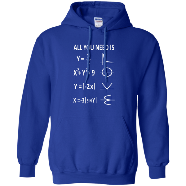 All You Need is Love Pullover Hoodie 8 oz - TeachersLoungeShop - 12
