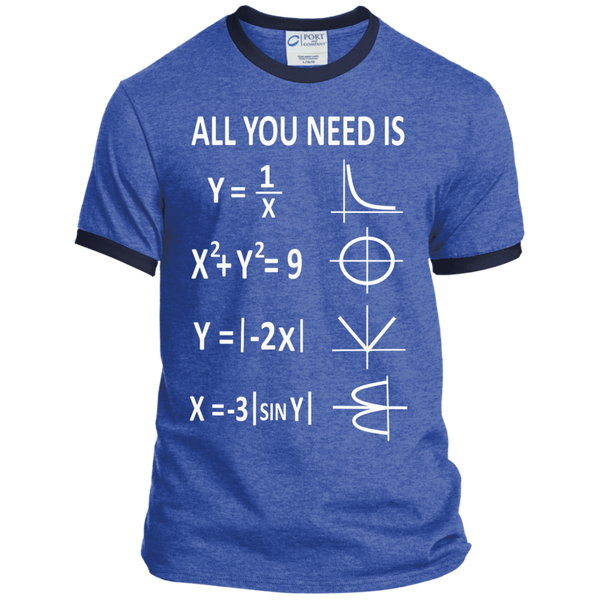 All You Need is Love Ringer Tee - TeachersLoungeShop - 6
