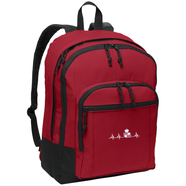 Teacher heartbeat  Backpack - TeachersLoungeShop - 2