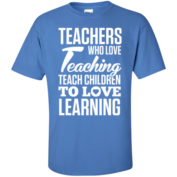 Teachers who love Teaching  T-Shirt - TeachersLoungeShop - 9