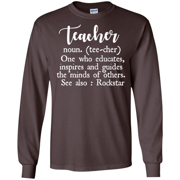 Teacher Definition LS   T-Shirt