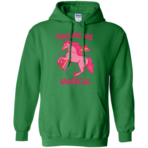 Teachers are Magical Pullover Hoodie 8 oz - TeachersLoungeShop - 7