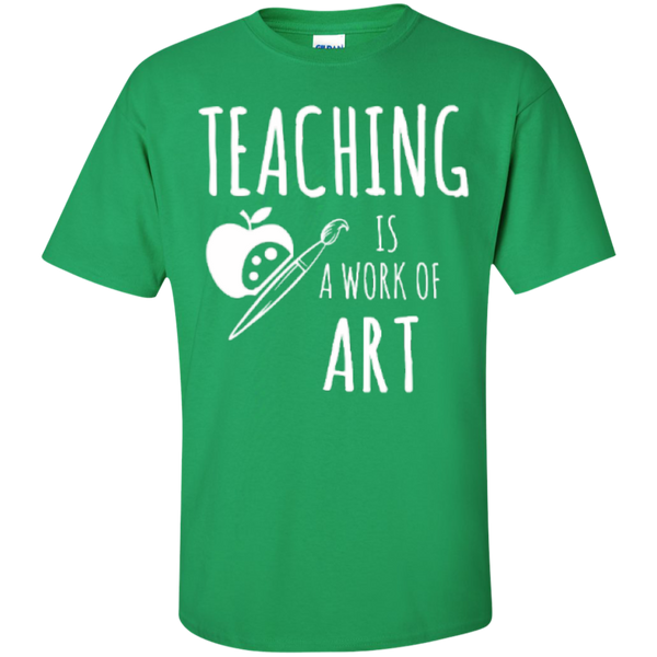 Teaching is a Work of Art Teacher T-shirt Hoodie - TeachersLoungeShop - 5