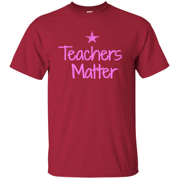 Teachers Matter Cotton T-Shirt - TeachersLoungeShop - 6