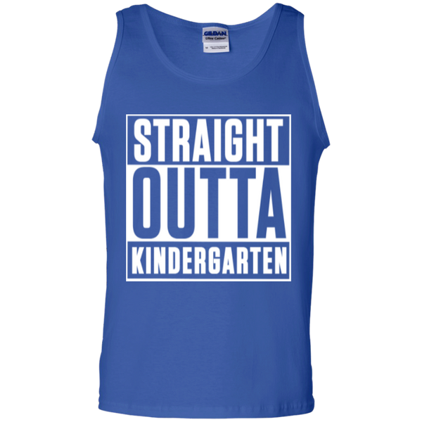 Straight Outta Kindergarten   100% Cotton Tank Top - TeachersLoungeShop - 4