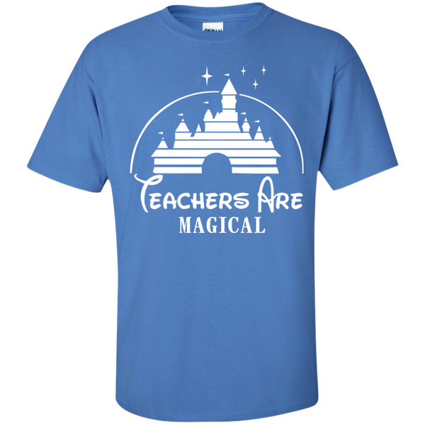 Teachers are Magical Cotton T-Shirt - TeachersLoungeShop - 5