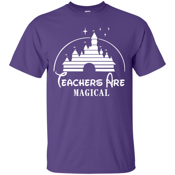 Teachers are Magical Cotton T-Shirt - TeachersLoungeShop - 11