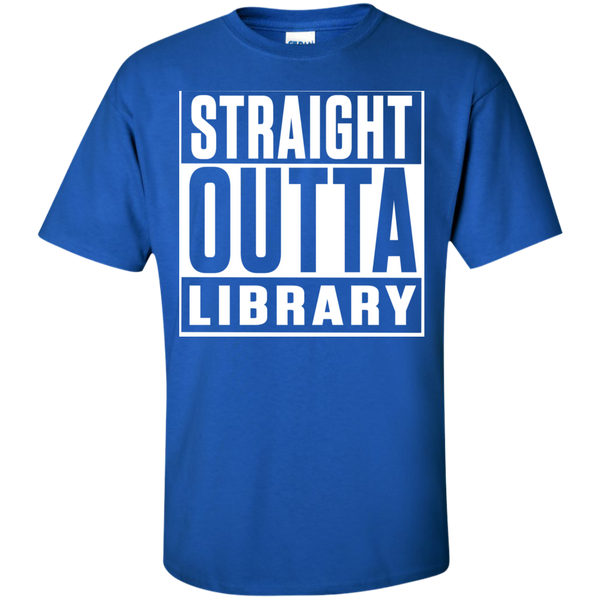 Straight Outta Library T-Shirt - TeachersLoungeShop - 2