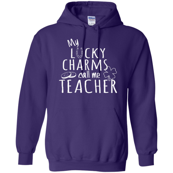 My Lucky Charms Call Me Teacher T-shirt Hoodie - TeachersLoungeShop - 9