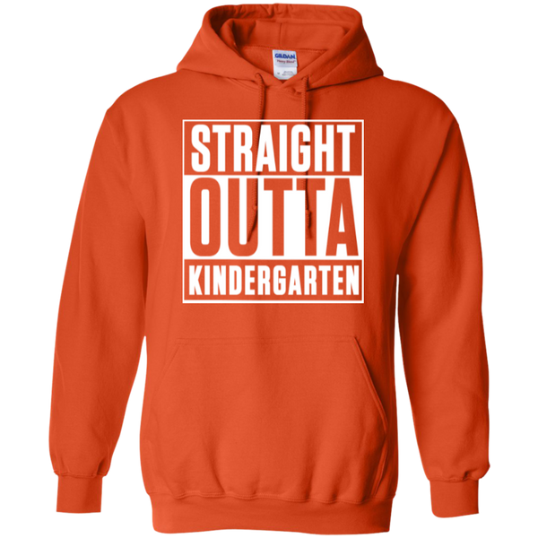 Straight Outta Kindergarten Hoodie 8 oz - TeachersLoungeShop - 10