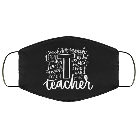 Teacher words  Face Mask