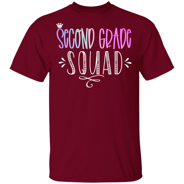 Second Grade Squad   5.3 oz. T-Shirt