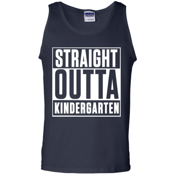 Straight Outta Kindergarten   100% Cotton Tank Top - TeachersLoungeShop - 2
