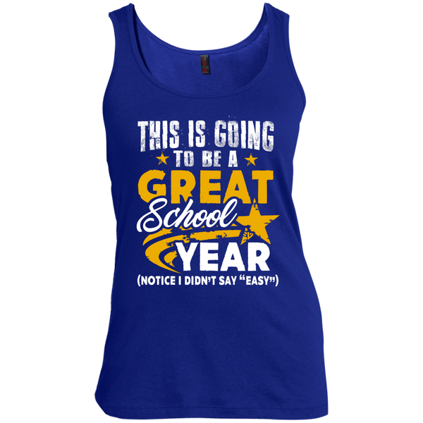 This is Going to be a Great School Year  Women's Scoop Neck Tank Top - TeachersLoungeShop - 3