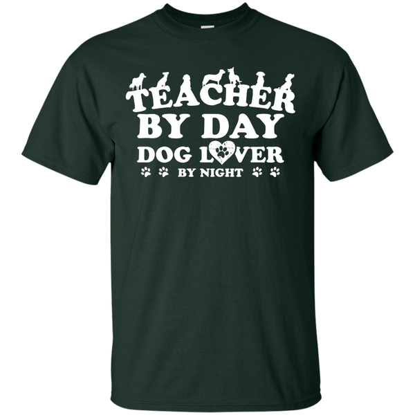 Teacher By Day Dog Lover by Night T-Shirt - TeachersLoungeShop - 2