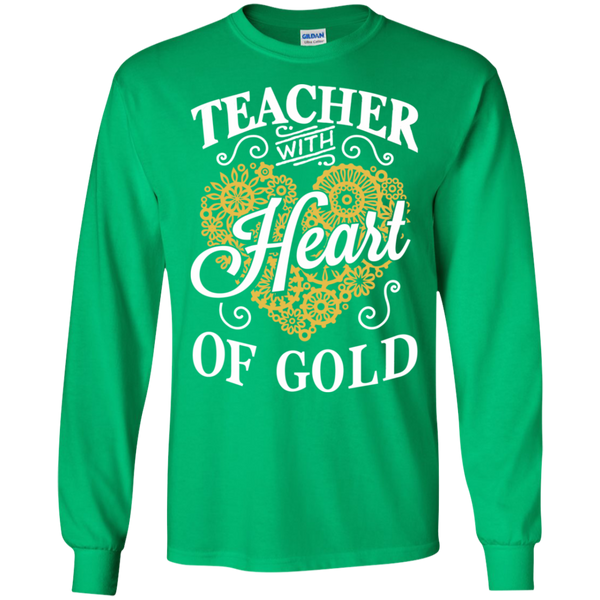Teacher with Heart of Gold  Ultra Cotton Tshirt - TeachersLoungeShop - 10