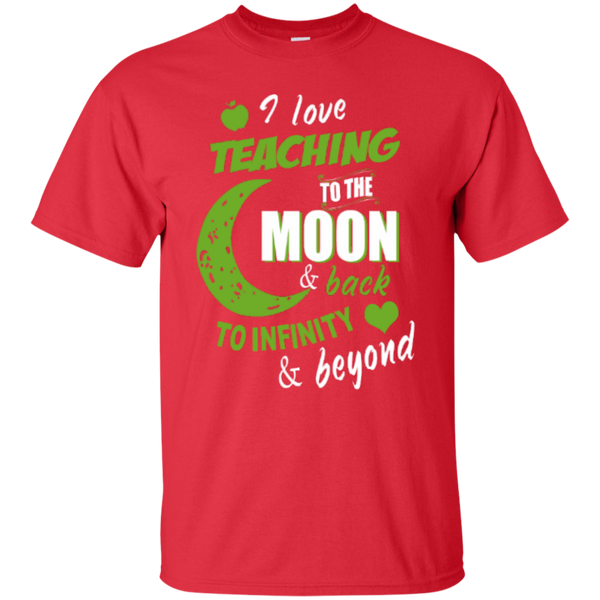 I Love Teaching to the Moon and Back to Infinity and Beyond Teacher T-shirt Hoodie - TeachersLoungeShop - 2
