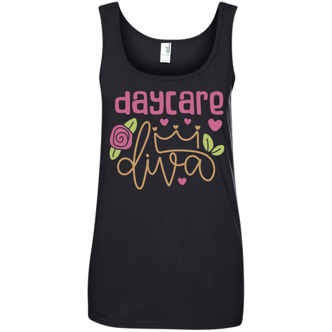 Day Care Diva Tank Top