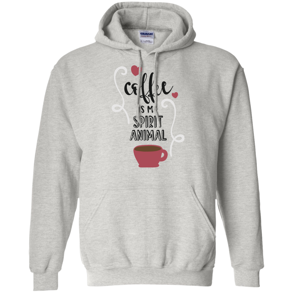 Coffee is my spirit animal  Hoodie