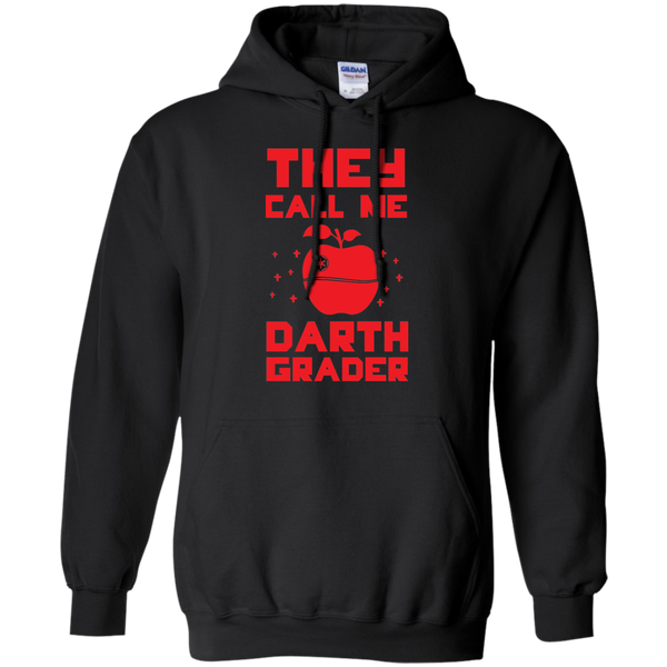 They call me Darth Grade  Hoodie 8 oz - TeachersLoungeShop - 1