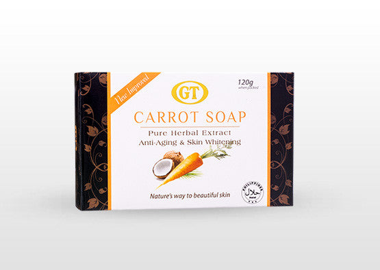 GT Cosmetics Herbal Carrot Soap - GT Cosmetics