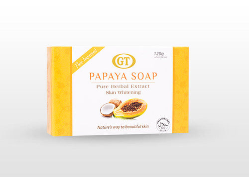 GT Cosmetics Herbal Papaya Soap - GT Cosmetics