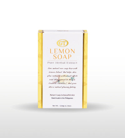 GT Cosmetics Herbal lemon Soap - GT Cosmetics