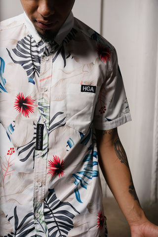 HGA Created to Flourish Floral Shirt
